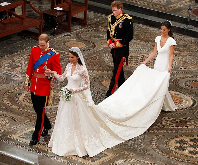 Duchess Catherine's royal nuptials were called the wedding of the century in 2011.