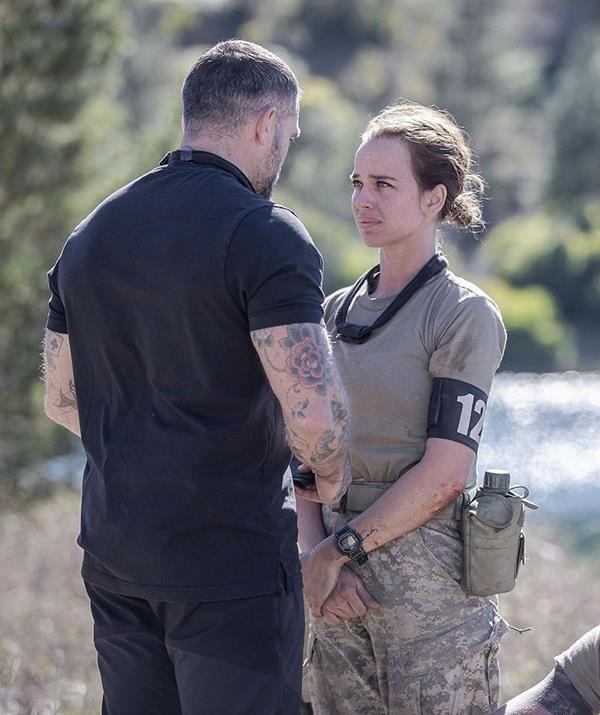 """Bonnie, who was the youngest recruit on the show, admits the course is """"made to make you crumble and face your demons""""."""