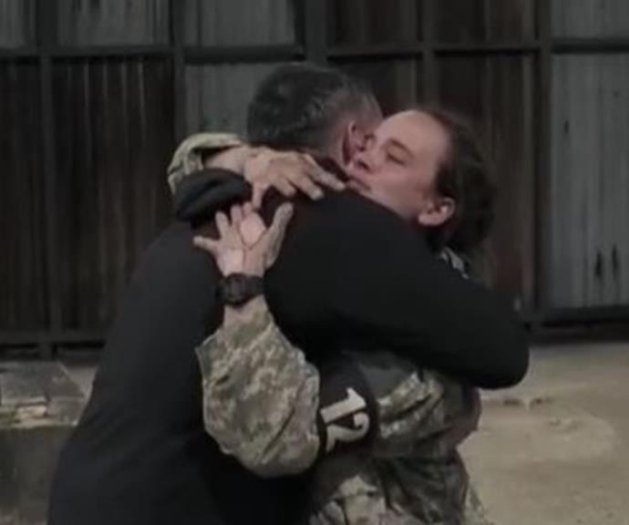 Bonnie shared a tender moment with DS Ant Middleton as she announced her departure, with the no-nonsense ex SAS soldier breaking his tough exterior to tell Bonnie he was proud of her.