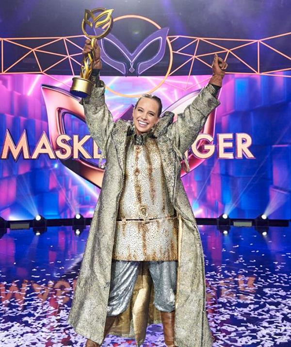 Bonnie, who won *The Masked Singer* last year, revealed she believes Jack Vidgen is behind the Kebab costume on the current season.