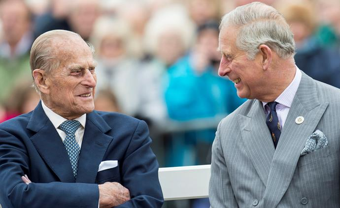 Prince Charles revealed one of his last conversations with his late father.