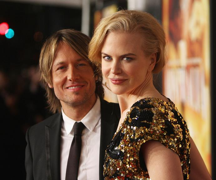 Nicole Kidman and Keith Urban met in 2005 and wed in 2006.