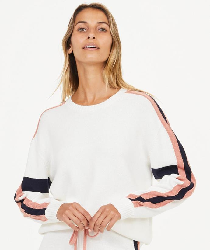 """[Shop the Boo Knit Top for $149.99.](https://fave.co/3CBB9ZX target=""""_blank"""" rel=""""nofollow"""")"""