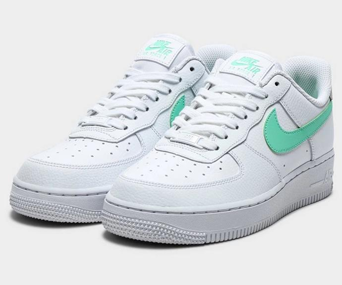 """[Shop the Nike Air Force 1 Women's here for $160.](https://fave.co/3hYm7Ws target=""""_blank"""" rel=""""nofollow"""")"""