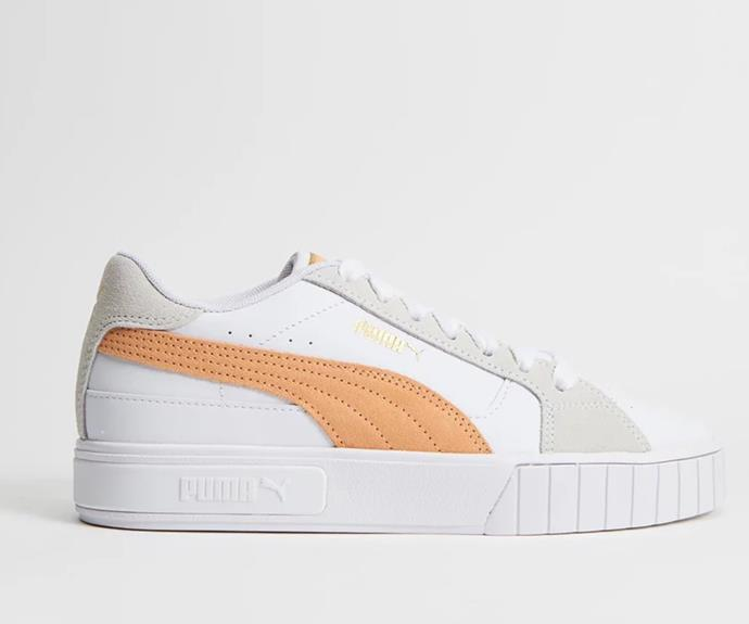 """[Shop the Puma Cali Star Mix here for $140.](https://fave.co/3CE4OC4 target=""""_blank"""" rel=""""nofollow"""")"""