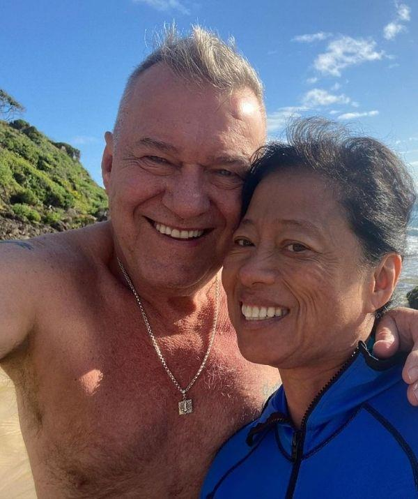 """On *ABC Radio's Conversations*, Jimmy revealed how he felt when he met his wife, Jane. """"As soon as I walked in the room, I'd seen this girl across the room, and she was just beautiful, and she took my breath away."""""""