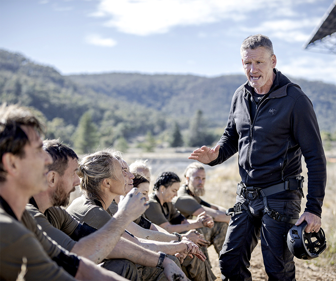 After appearing in the UK series of *SAS* before coming to Australia, Billy has seen the affect the show has had not only on the recruits, but on those watching at home.