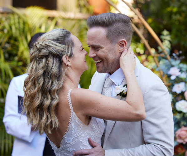 After their beautiful backyard wedding, Tori and Christian farewell their loved ones on *Home And Away* this week.