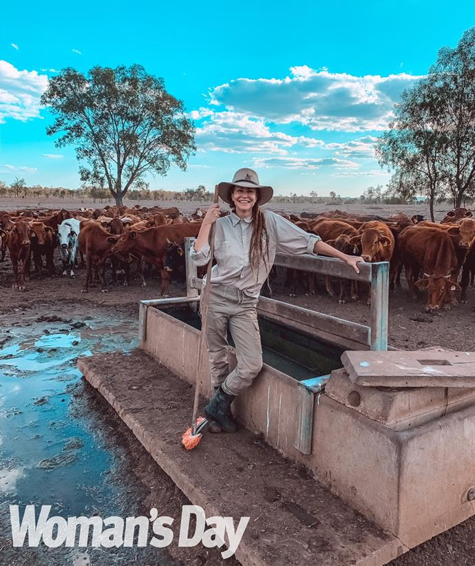 On Yarra cattle station in Queensland