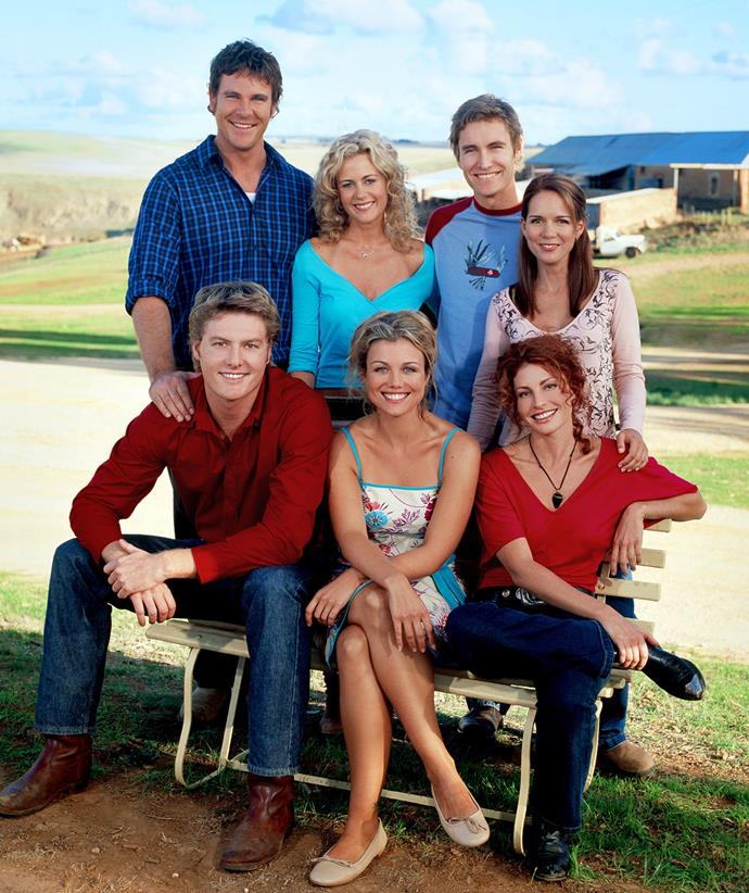 The McLeod's cast were family back in the day