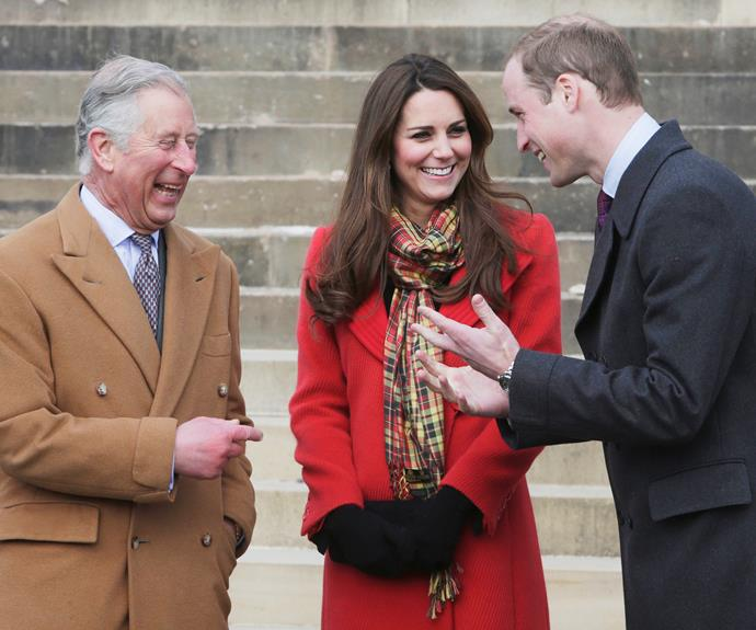 Kate has been a real rock for not just William, but Charles as well.