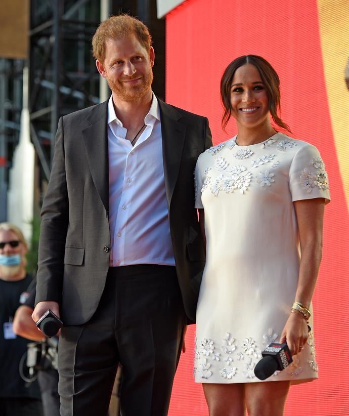 The couple made a much-anticipated appearance at the Global Citizen Live festival.