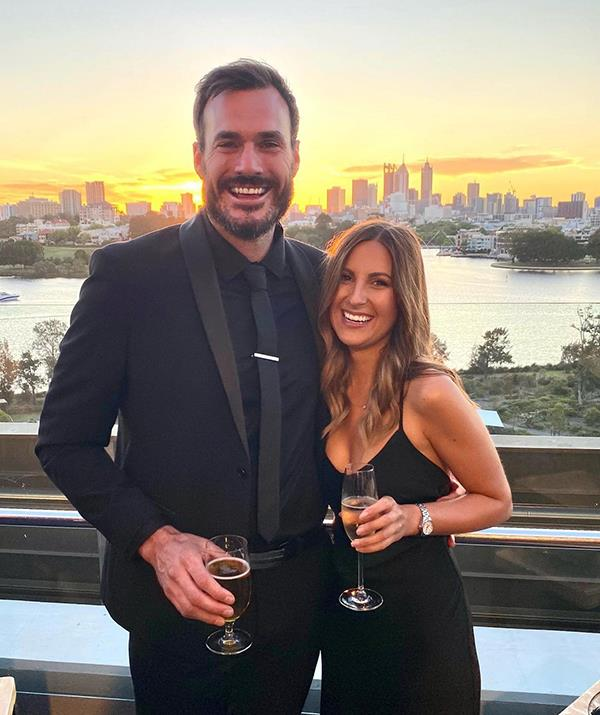 """Irena said the secret to a happy relationship is """"trust, respect and always supporting one another"""". <br><br> """"A lot of people thought we'd break up or it was just for the show, but a year later we are just as crazy in love and happier than ever – love triumphed!"""" the nurse recently gushed of her romance with Locky."""