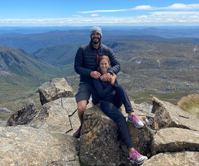 """The couple share a love of hiking and often share snaps from their adventures on the road.  <br><br> """"Travelling is so much fun, it's also stressful and testing on a relationship,"""" Irena said earlier this year. <br><br> """"But we are creating the most amazing memories together."""""""