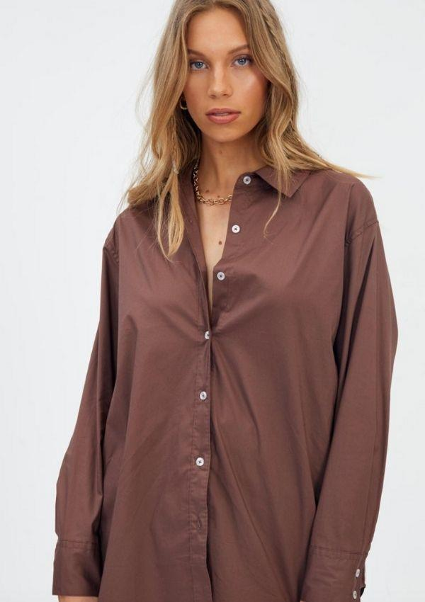 """Oversized Button Through Shirt, $39.99, from [Glassons.](https://go.skimresources.com?id=105419X1569321&xs=1&url=https%3A%2F%2Fwww.glassons.com%2Fp%2Foversized-button-through-shirt-bl48432pop-cash-cow