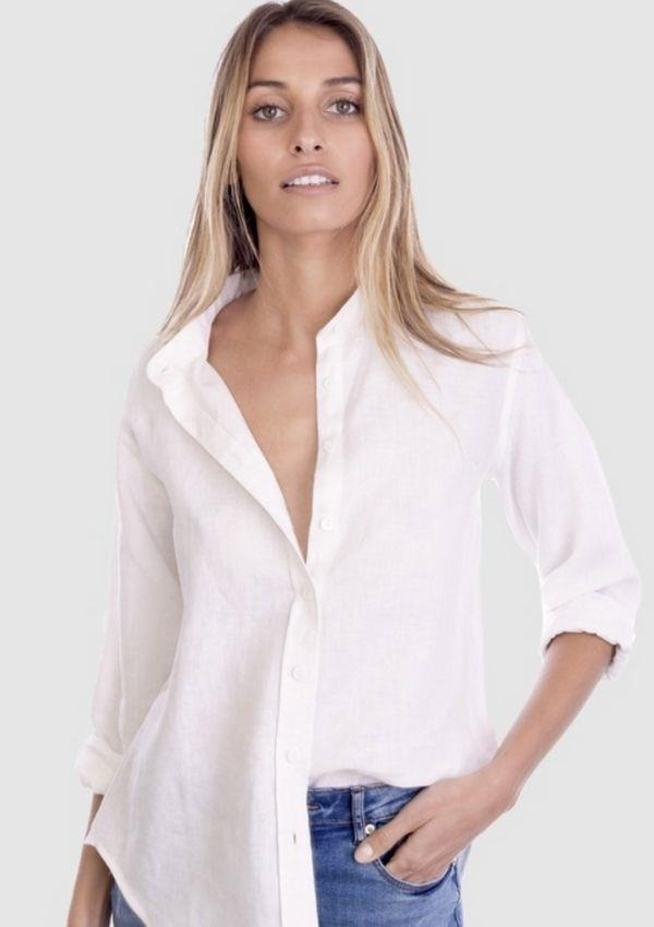 """CAMIXA Lotus Linen Shirt, $89.90, from [The Iconic.](https://go.skimresources.com?id=105419X1569321&xs=1&url=https%3A%2F%2Fwww.theiconic.com.au%2Flotus-linen-shirt-1376586.html