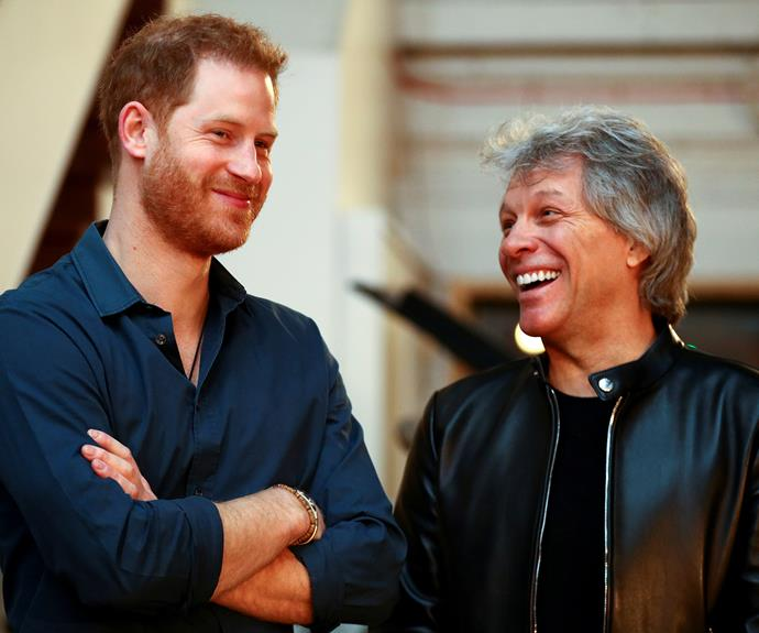 Harry and Jon Bon Jovi previously worked on a song for the Invictus Games