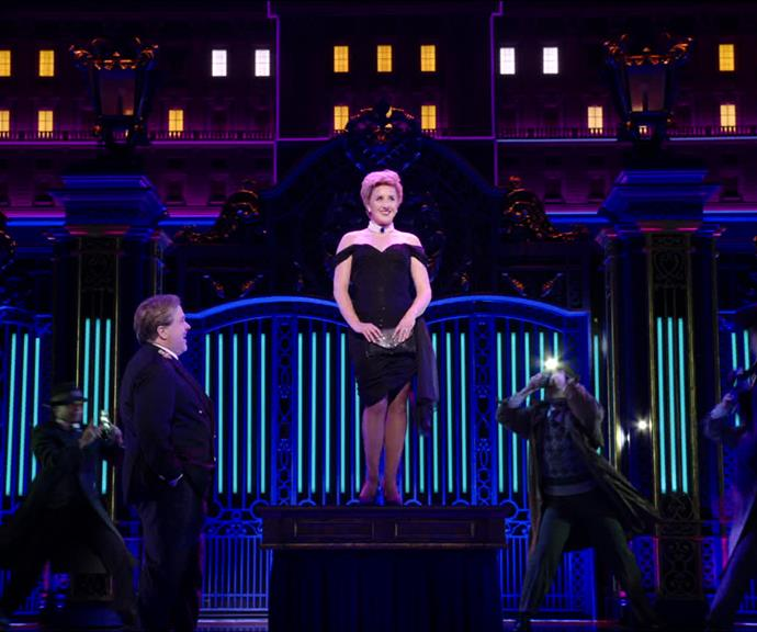 The dazzling and devastating life of Princess Diana takes centre stage in this original musical, filmed in advance of its official Broadway opening.