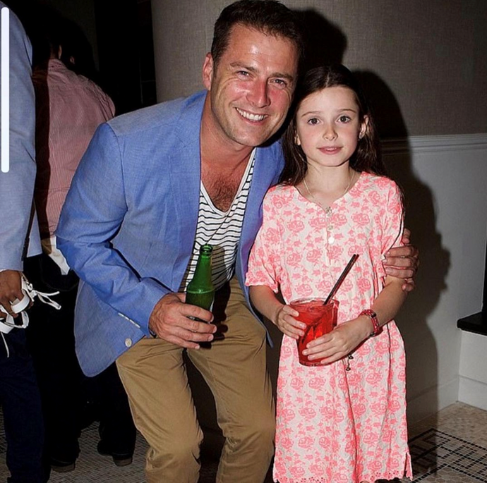 The *Today Show* host also shared a throwback snap of himself and daughter Ava.