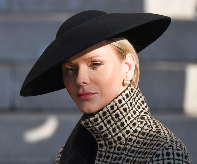 Princess Charlene's long absence follows reports of severe turbulence in her 10-year marriage.