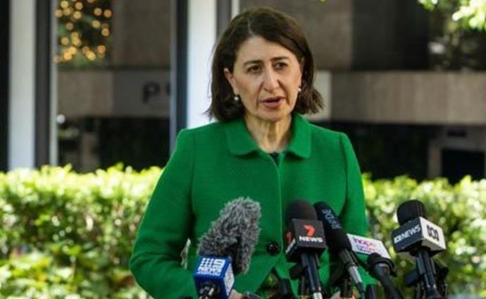 Gladys resigned as NSW Premier on October 1 2021