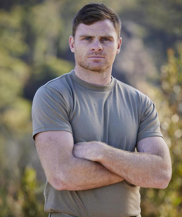 """**Heath Shaw** <br><br> The former AFL star crumbled after the gruelling log carrying challenge and admitted to DS Ant Middleton that he couldn't go on. <br><br> """"I can't honestly, that's it…I've just got nothing, I'm empty… I've given it my all,"""" he said while tearing up. <br><br> """"If I could sum up my time in this course, I would say that it was the hardest and most uniquely positive experience that I've had."""""""