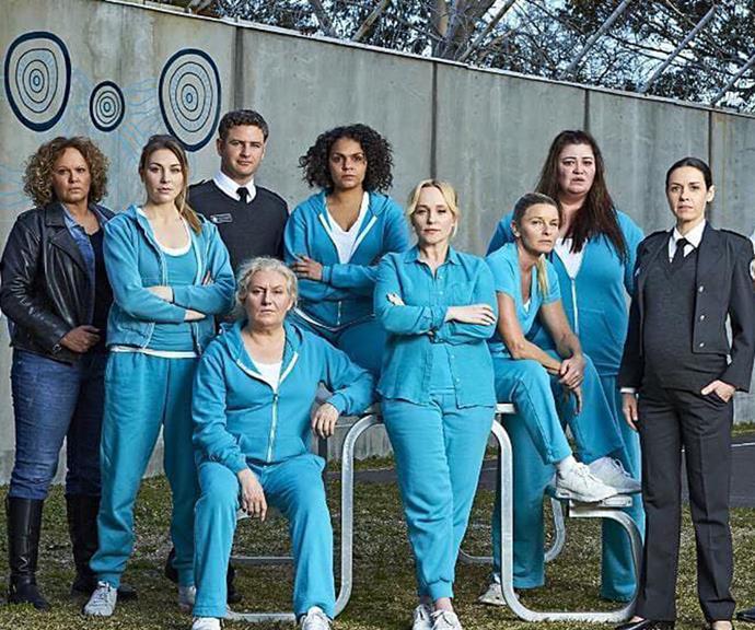 Bernard has played guard Jake Stewart on prison drama *Wentworth* since 2016.