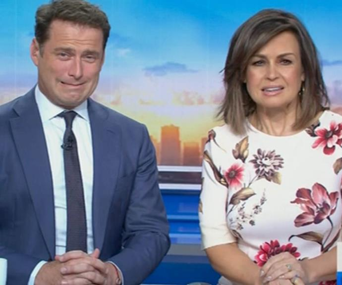 Lisa worked with Karl on Nine's *Today Show* for over a decade.