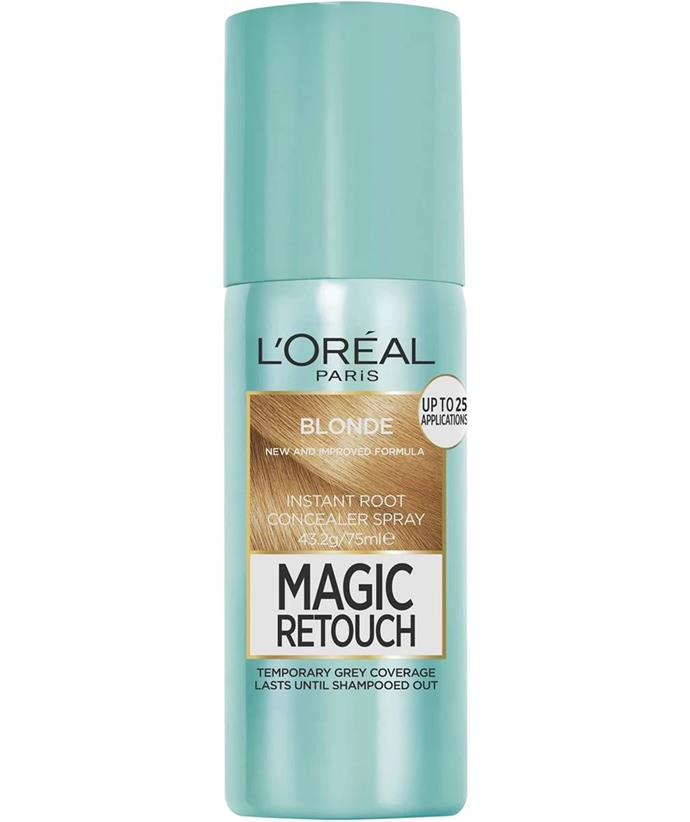 """[L'Oreal Paris Magic Retouch Hair Colour, $15.95, from Woolworths.](https://fave.co/3l7oWGK