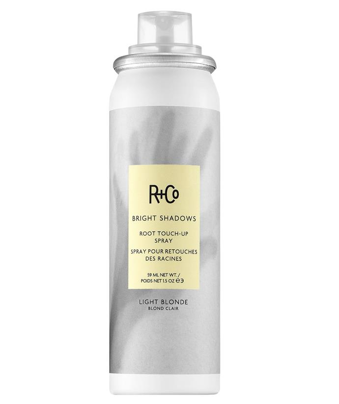 """[R+Co Bright Shadows Root Touch-Up Spray, $39, from Adore Beauty](https://fave.co/3AcXqvw