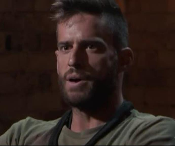 The drama started after Dan failed a task where the recruits were required to maneuver a car through a series of explosions.