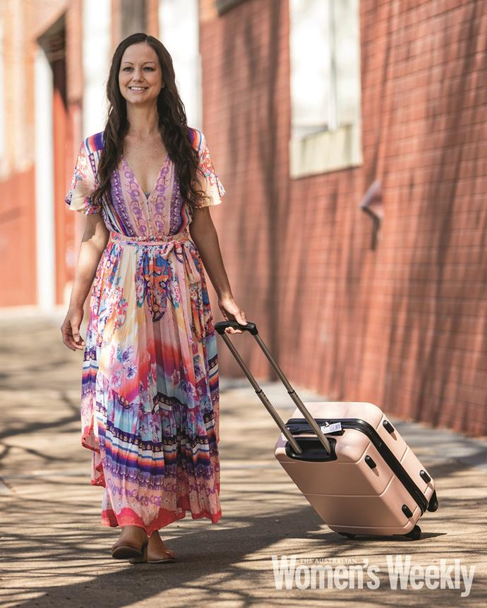 Rachael started Hope in a Suitcase out of her own pocket.