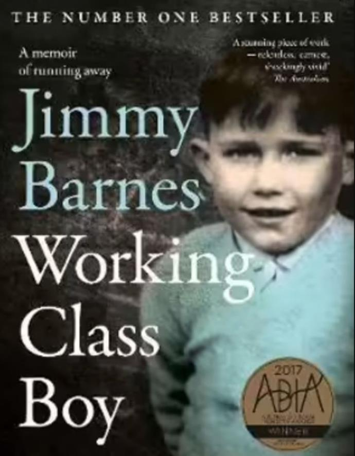 """**Jimmy Barnes Working Class Boy** <br><br> Singer Jimmy Barnes rips open the wounds of his past to tell his story, from a rough kid growing up in Adelaide's north to becoming a massive rock star and overcoming his addictions. It's a raw and honest account about his life, and some stories are so wild you won't believe they're real. <br><br> Pick up a copy [here.](https://go.skimresources.com?id=105419X1569321&xs=1&url=https%3A%2F%2Fwww.booktopia.com.au%2Fworking-class-boy-jimmy-barnes%2Fbook%2F9781460753415.html%3Fsource%3Dpla%26gclid%3DCjwKCAjw7--KBhAMEiwAxfpkWH8M4g7Jp7WgLcszJ5WEOKHLDuz40iM_sfmr5Rp7wFtRXCyWTSOF7hoCXswQAvD_BwE target=""""_blank"""")"""
