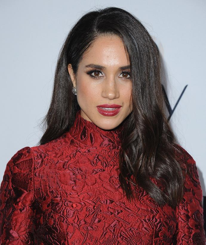 Meghan was known to sport more daring beauty looks prior to marrying into the royal family.