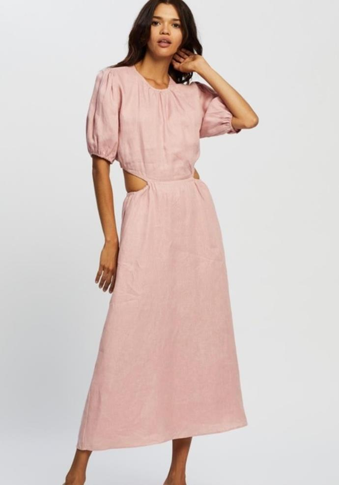 """Aere Cut Out Maxi Dess, $112.00, [The Iconic.](https://go.skimresources.com?id=105419X1569321&xs=1&url=https%3A%2F%2Fwww.theiconic.com.au%2Fcut-out-maxi-dress-1217001.html target=""""_blank"""")"""