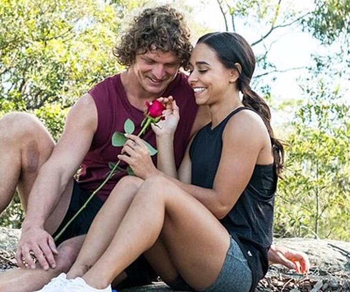 """When we first met the proud Noongar-Yamatji woman on Nick """"The Honey Badger"""" Cummins' season in 2018, her sexuality was quickly thrust into the spotlight."""