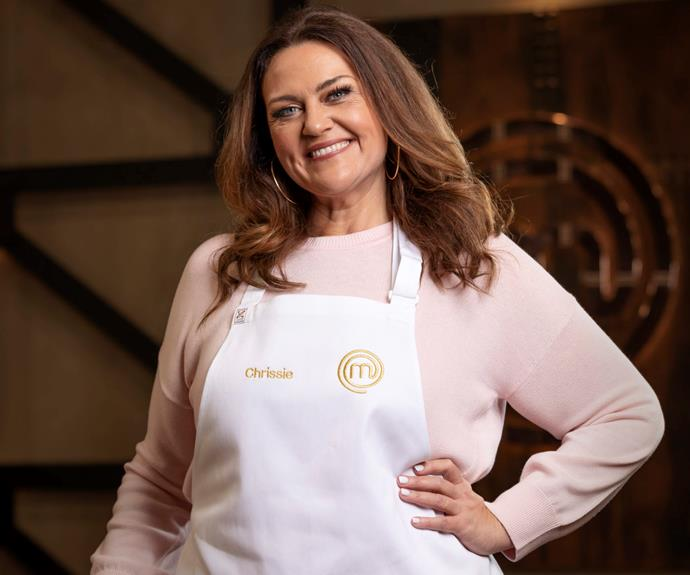"""**Chrissie Swan: 'I swore a lot!'** <br><br> During a recent chat with Nova's Fitzy & Wippa, Chrissie revealed just what viewers can expect to see dished out during the season.  <br><br> """"As expected, Thorpie is quite competitive,"""" said the former *Big Brother* star-turned-radio host.  <br><br> Chrissie, 47, also went on to reveal she had a ball hanging out with Tilly on set.  <br><br> """"She's very posh, very funny and very refined. I swear like a wharfie around her though, I don't know what it is about her.""""  <br><br> Chrissie admits her serving style on the show was her weakness.  <br><br> """"I'll just put a spoon in a giant pot and slop it on there,"""" she laughed."""