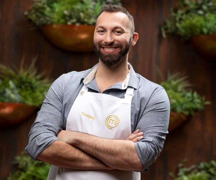 """**Ian Thorpe: 'I want to win!'** <br><br> With nine Olympic medals under his belt, swimming great Ian certainly understands performing under pressure.  <br><br> So how does the pool compare to the kitchen?  <br><br> """"I am bringing my competitive side to *MasterChef*,"""" he says. """"I love to cook and I want to win.""""  <br><br> During filming, Ian, who turns 39 this week, also struck up a special bond with Tilly Ramsay, taking to Instagram to share a black and white image of the pair hugging.  <br><br> """"When you have the pleasure of giving a delightful person from the other side of the world a hug and a kiss to make them feel better."""""""