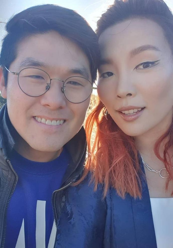 """For Noah's birthday, Dami shared a tribute on her Instagram about the joy he has brought to her life.  <br><br> """"Happy birthday to the handsomest most resilient human on earth!! We did our celebrations yesterday because I had to travel today.. so here I am putting this up from the Northern hemisphere...  <br><br> """"You bring so much joy and happiness to me and anyone who is lucky enough to have you in their lives.. ❤❤❤ Thank you for being the positive and fun person that you really are! Love you Noah Kim 🎂🎂🎂,"""" she wrote."""