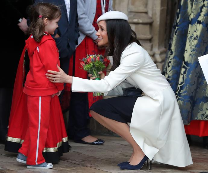 The Duchess of Sussex has pushed the importance of uplifting girls around the world.