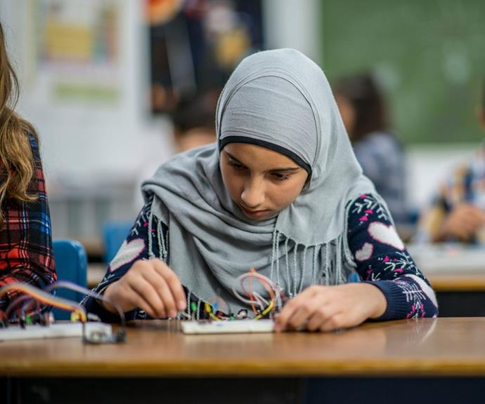 Girls are also being pushed out of science, technology, engineering and mathematics.
