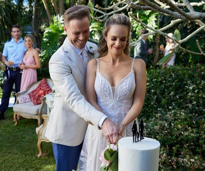"""""""Who doesn't love a wedding storyline? It's the perfect send-off for my character. I was definitely holding a few real tears back on the day,"""" [Penny said of the highly-anticipated nuptials.](https://www.who.com.au/penny-mcnamee-leaving-home-and-away target=""""_blank"""")"""