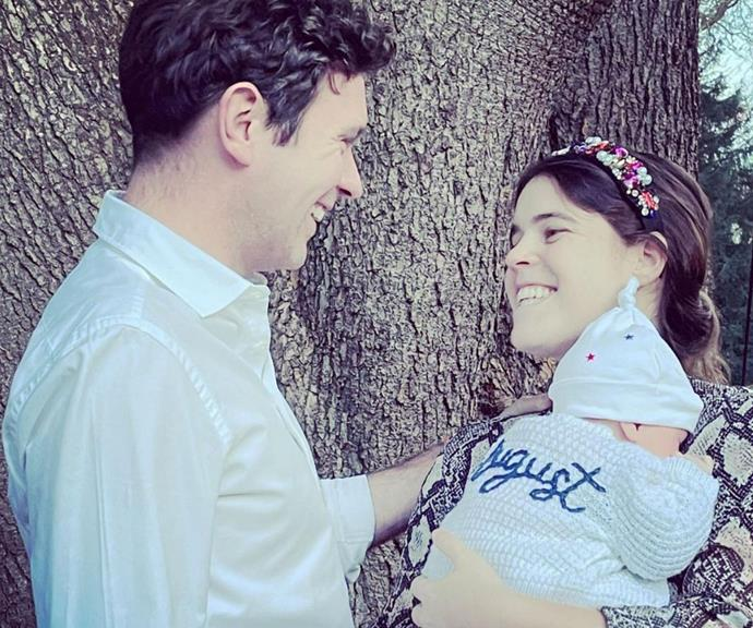 The couple welcomed their first child together in February 2021.