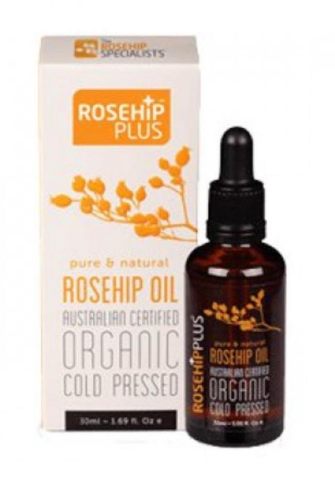 "Rosehip Plus Organic Rosehip Oil, $15.59, [Doorstep Organic.](https://go.skimresources.com?id=105419X1569321&xs=1&url=https%3A%2F%2Fwww.doorsteporganics.com.au%2FOrganic-Rosehip-Oil-Rosehip-Plus-30ml%3Fgclid%3DCj0KCQjwwY-LBhD6ARIsACvT72P7oHK-mKF26fLhugSN8mK2K8vDBk8c_2VBpe3aRI53JqmZKK784ugaAjs_EALw_wcB target=""_blank"")"