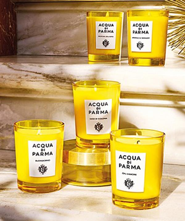 """[**Acqua di Parma candle**](https://www.davidjones.com/gifts/gift-ideas/gifts-for-her/23608705/Buongiorno-Candle-200G.html target=""""_blank"""") <br><br> Candles are always a no-brainer when it comes to spoiling someone, and this Christmas is no exception.  <br><br> Acqua di Parma's Buongiorno canlde from David Jones might seem a bit on the pricier side at $116.00, but rest assured, it will have your loved one's house smelling like they've stepped into heaven. <br><br> With high-end yellow glass packaging, the rosemary, Jasmin and cedarwood candle isn't bad on the eye either, and can brighten up any décor-less space."""