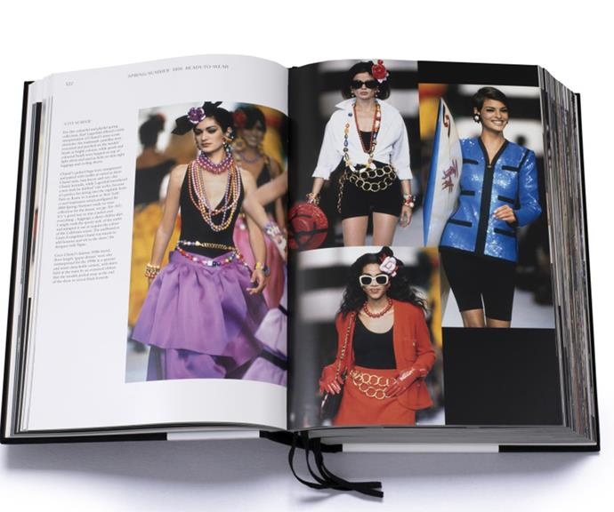 """[**Chanel coffee table book**](https://www.myer.com.au/p/patrick-mauries-adelia-sabatini-chanel-catwalk-new-ed-hardback- target=""""_blank"""") <br><br> While buying the sought-after Chanel Boy Bag might be a bit of a stretch on the wallet, the French fashion house's coffee table book *Chanel Catwalk* is the perfect (and affordable) luxury Christmas gift for your fashion-inclined friends. <br><br> The best-seller was the first book to gather every collection ever created by Karl Lagerfeld in a single volume.  <br><br> Now fully updated to include Lagerfeld's final collections for the house and those of his right-hand and successor, Virginie Viard, this $110 revised edition includes twenty-eight new collections."""