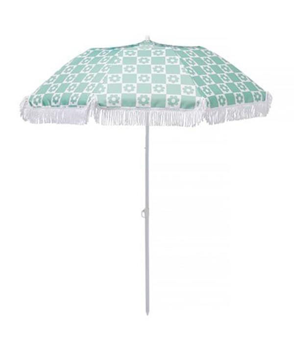 """[**Beach Umbrella**](https://www.adairs.com.au/bathroom/beach-towels/adairs/daisy-check-beach-umbrella/?gclid=Cj0KCQjwwY-LBhD6ARIsACvT72PDfYNy4UJJUnty7qNuPjAudA1S0ouXipOdUEb-vS07zIUJWCFocXIaAt-eEALw_wcB&gclsrc=aw.ds target=""""_blank"""") <br><br> Perfect for family beach outings, this $99 Adairs umbrella is the ultimate summer accessory.  <br><br> The 1.8m adjustable stand, detachable sand anchor and carry bag allows for any easy set up. <br><br> And if you don't think this pattern will be a hit with your loved ones, the umbrella comes in three other summery colour ways!"""