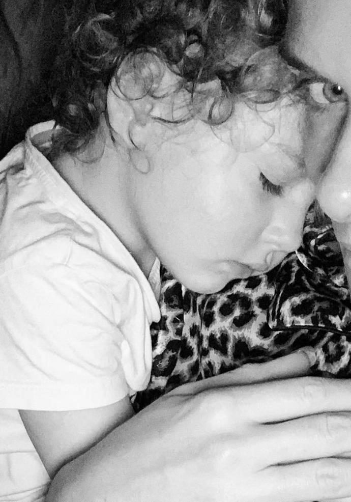 There is nothing quite like your baby falling asleep with you as a mother.