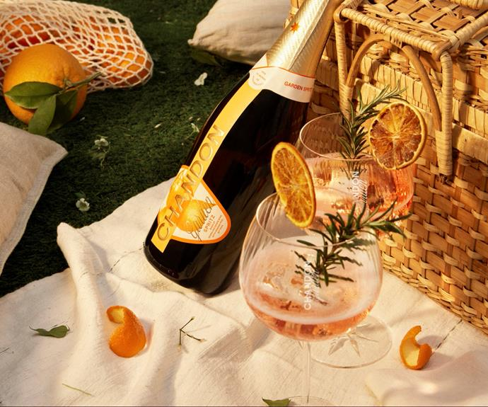 """**[Chandon Garden Spritz](https://fave.co/3iVOQfc target=""""_blank"""" rel=""""nofollow"""")** <br> Treat them to the perfect summer spritz with a bottle of Chandon's new blend of sparkling wine and locally crafted orange bitters, developed in the heart of the Yarra Valley. It's perfect for picnics or Christmas Day sipping. <br><br> ***[Shop Chandon Garden Spritz 750ml, $28, from First Choice Liquor.](https://fave.co/3iVOQfc target=""""_blank"""" rel=""""nofollow"""")***"""