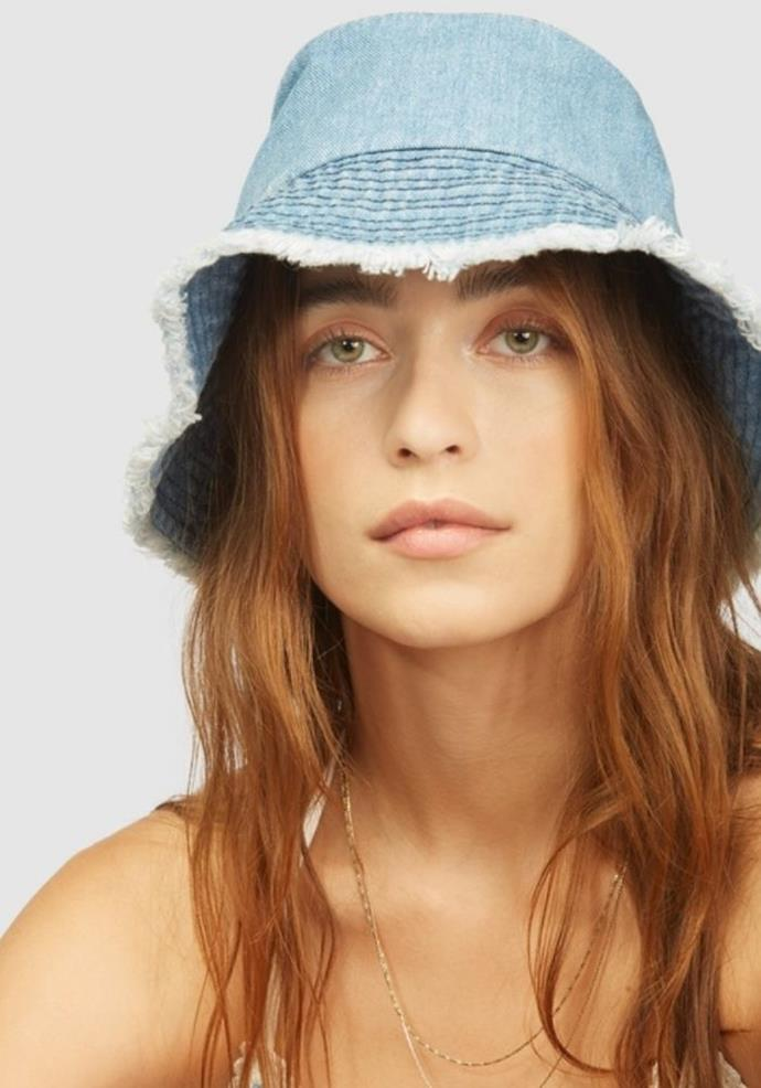 "Billabong Wrangler Hats Off Hat, $39.99, [The Iconic.](https://go.skimresources.com?id=105419X1569321&xs=1&url=https%3A%2F%2Fwww.theiconic.com.au%2Fwrangler-hats-off-hat-1329046.html|target=""_blank"")"